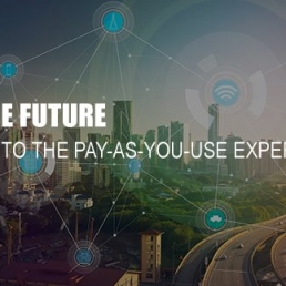 Build the future to say hello at the pay-as-you-use experience